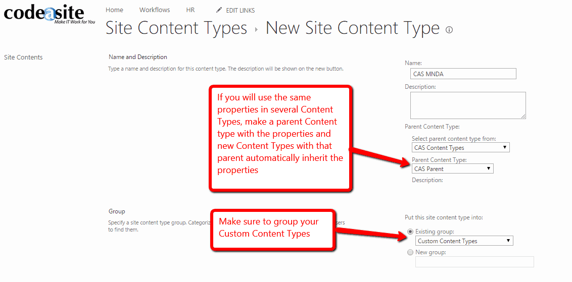Add Content Type