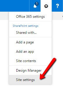 Select site settings in SharePoint to improve intranet security